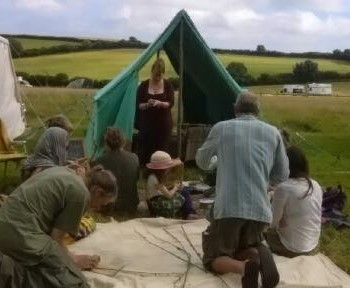 nettle cording workshop