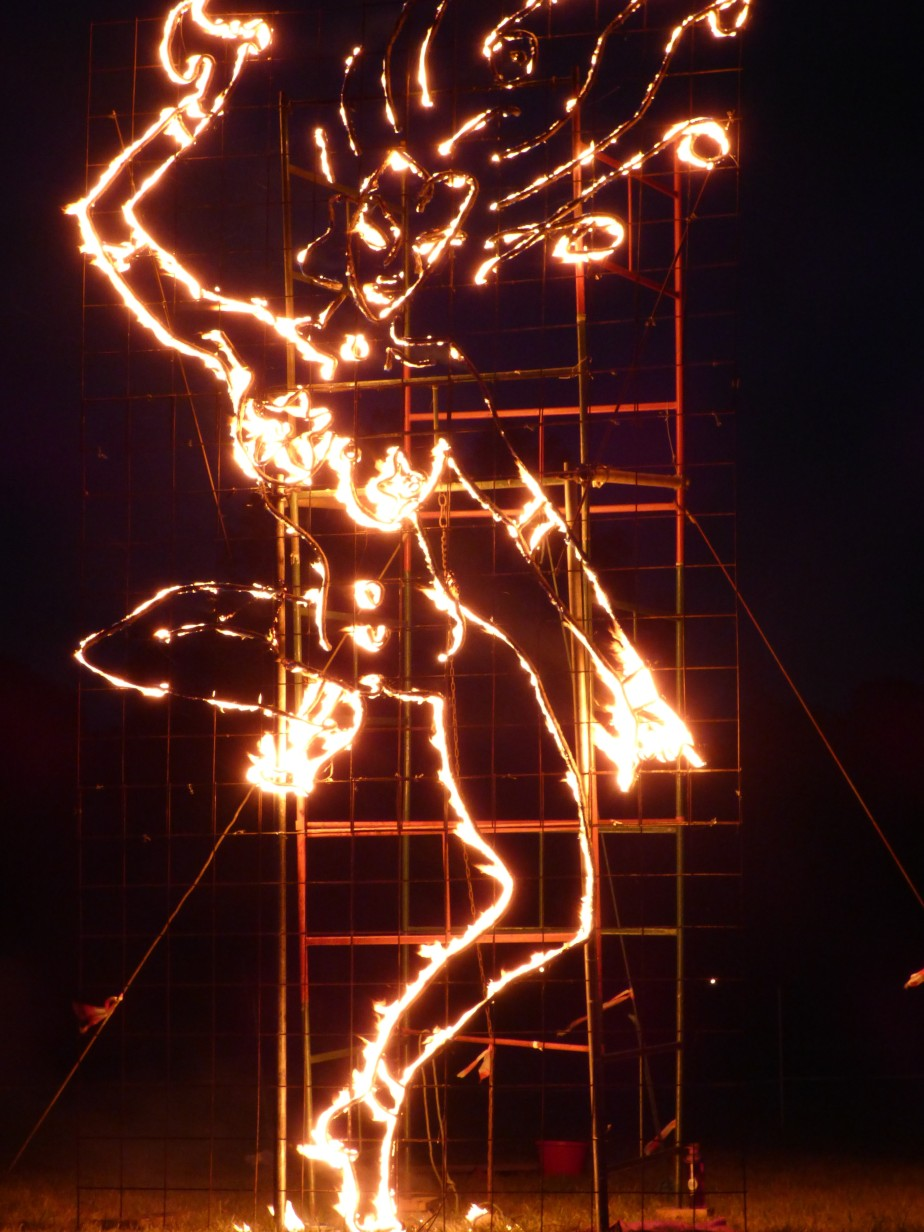 Chakras illuminated